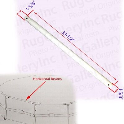 """Horizontal Beam Pole Parts for Summer Escapes Metal Frame Pool 12/'x 30/"""""""