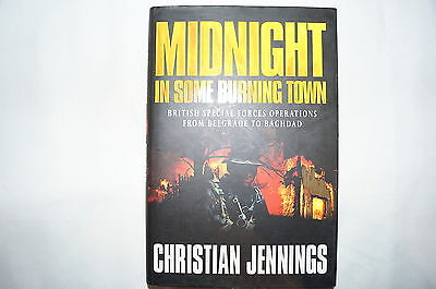 British Army Special Forces Midnight in Some Burning Town Reference Book