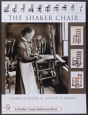 COLLECT ANTIQUE SHAKER CHAIR -ROCKING, PATENT + STRAIGHT - BEST COLLECTING BOOK