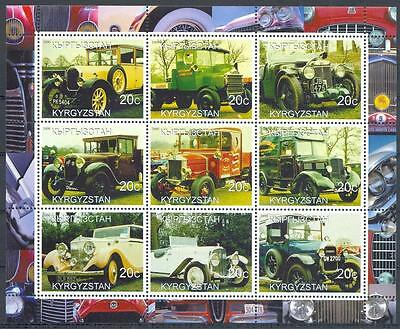 (051116) Cars, Oldtimers, Kyrgyzstan - private issue -