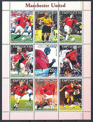 (051312) Manchester United, Soccer, Kyrgyzstan - private issue -