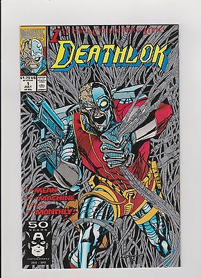 "1991 Marvel ""Deathlok"" Comic Book #1"