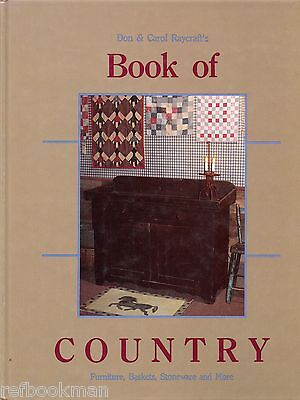 Country Collectible - Furniture Baskets Boxes Stoneware Toys Textiles Etc / Book