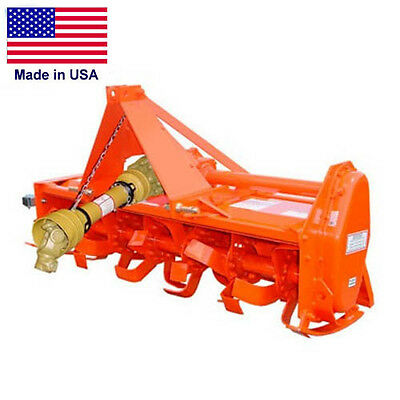 """54"""" Rotary Tiller - CAT 1 Hitch - 20 to 35 HP - 36 Tines - 3 PTO - Commercial"""