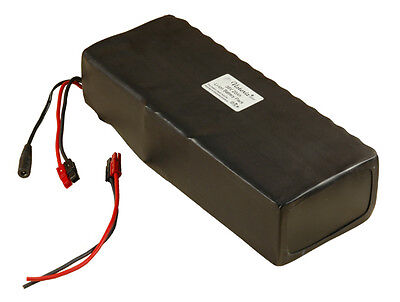 36V/37V 20Ah Lithium-ion/Li-ion Battery 100x 18650 Cells Rubber PVC Wrap eBike!
