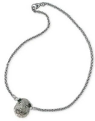 Sterling Silver Adjustable Guinea Pig Ankle Bracelet Jewelry  GP2-A