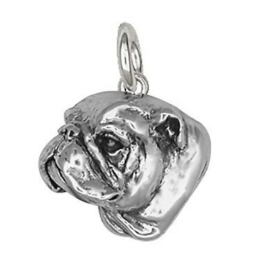 Silver Bulldog Charms Jewelry - BD4-C