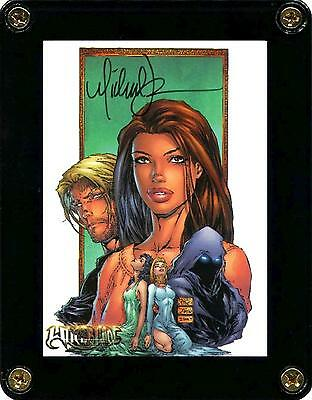 Witchblade Millennium 2000 Trading Card 49 Signed By Artist Michael Turner