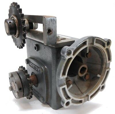 Boston Gear, Worm Gear Speed Reducer, F721-15-B5-G, 15:1 Ratio, 1.72 Hp Input