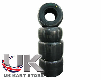 Vega SL6 Full Slick Tyre Set Fun / Practice (Mojo D2 Equivalent) UK KART STORE