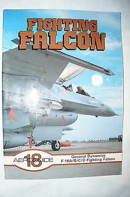 Current US Fighting Falcon Aeroguide 18 Reference Book