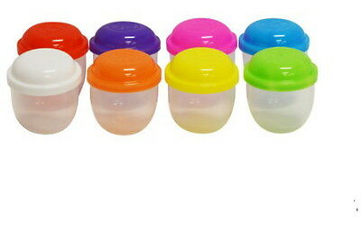 "800 Empty One Inch 1"" Vending Capsules Acorn 1 Inch Assorted Color Lids Party"