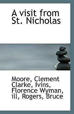 A Visit from St. Nicholas by Moore Clement Clarke (English) Paperback Book Free