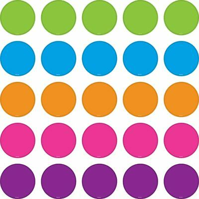 Bright Colors Circles Mini Accents Teacher Created Resources TCR5113