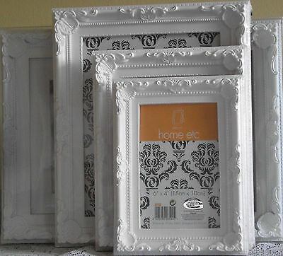 Picture Frames Photo Ornate Shabby Chic Vintage Antique Home Baroque Sizes (New)