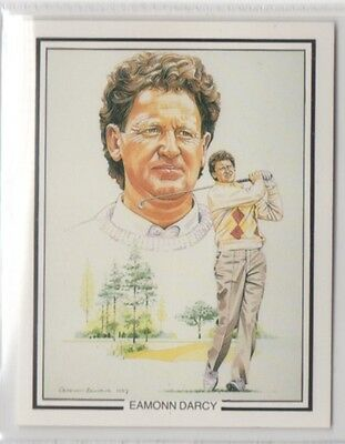 #3 Eamonn Darcy - The Ryder Cup 1987 Winners Collector Card
