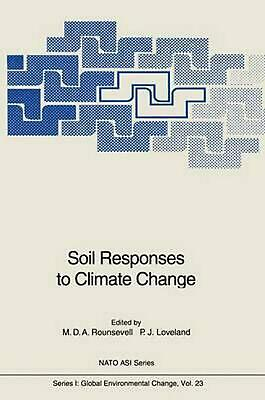 Soil Responses to Climate Change (English) Paperback Book Free Shipping!