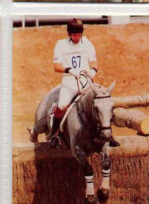 #60 Ian Stark GBR 3-day Event equestrian collector card