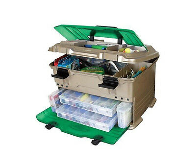 Flambeau T5S Multiloader Tackle Box With 6 Tackle Trays - Made In U.S.A