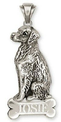 Personalized Sterling Silver Brittany Pendant Jewelry - BR2BN