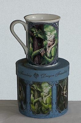 Anne Stokes Coffee Mug Cup bone China Gothic Fantasy Art Dragon Kindred Spirit