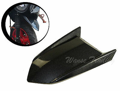 Front Tire Fender Mudguard Mud Flap Guard Carbon For YAMAHA Zuma BWS X 125 YW125