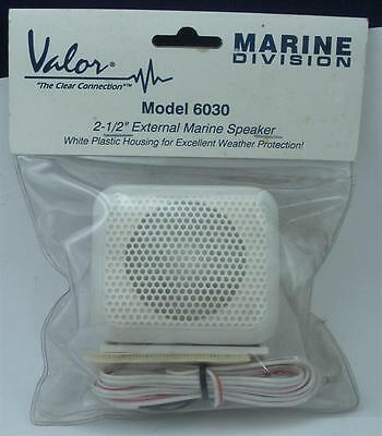 "Valor 6030 2.25"" External VHF Radio Speaker 19326"