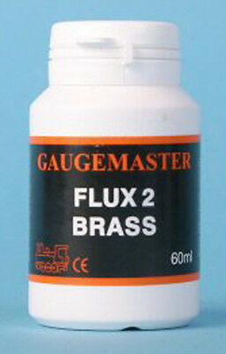 Gaugemaster GM04 - 60ml Bottle Liquid Soldering Flux for Brass - Tracked 48 Post