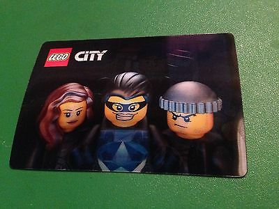 "8 LEGO City Night Shift Movie 3D Lenticular Promo CARD 3"" X 5"" NEW"
