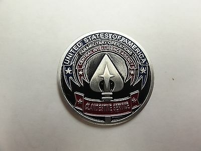 CHALLENGE COIN CENTRAL INTELLIGENCE AGENCY CLANDESTINE SERVICE PARAMILITARY OPS