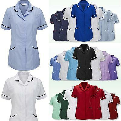 Women Tunic Nurses Florence Vet Salon Beauty Medical Dental Therapist Healthcare