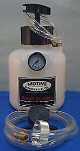 Motive Products Black Label Chrysler Power Bleeder w/ Adapter PN: 0113