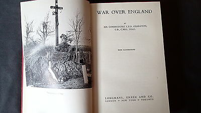 WW1 British War Over England Reference Book