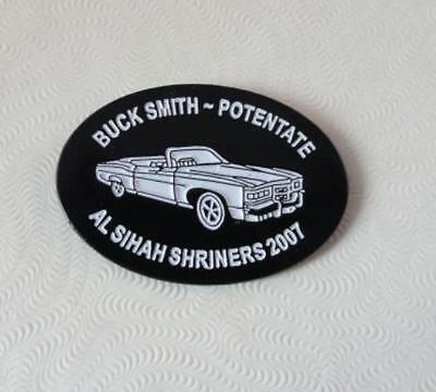 PIN - Al Sihah Shrine Temple - Buck Smith Potentate - 2007 -