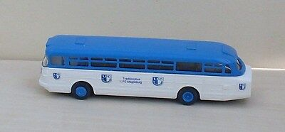 DDR Fußball Tradition Fanbus 1. FC Magdeburg Ikarus 66 1:87