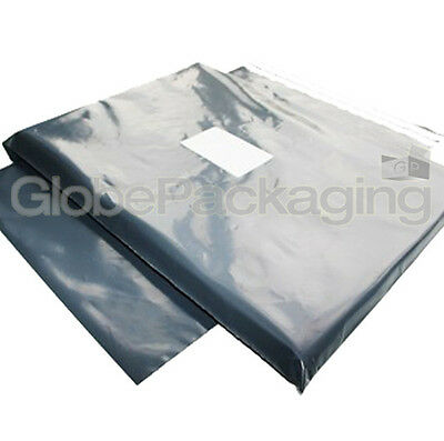 """100 x STRONG GREY 14""""x16"""" POSTAL POSTAGE MAILING BAGS 14x16"""" (350x400mm) *OFFER*"""
