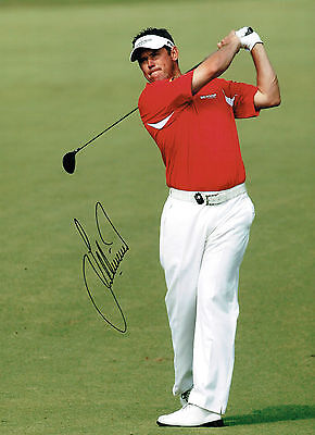 Lee WESTWOOD Signed Autograph 16x12 GOLF Ryder Cup Team Europe AFTAL COA