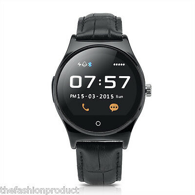 Bluetooth Smart Montre Connectée Phone call pour Smartphone IOS Android Samsung