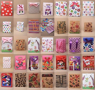 5Pc/ 10Pc Pattern Gift Bags Wedding,birthday Present, Loot, Cheapest On Ebay
