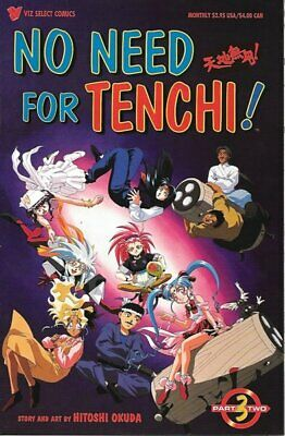 No Need For Tenchi! Comic Book Part Two #3, Viz Comics 1995 NEW UNREAD