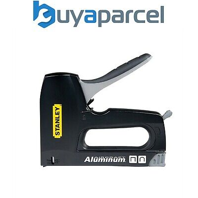 Stanley Flat and Round Cable Staple Gun 2 - 1 Stapler Tacking STA6CT10 6-CT-10X