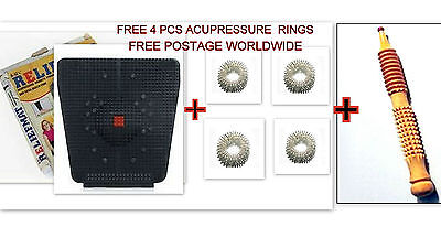 Relief Mat Acupressure Magnets Pyramid for Pain Relief also for SUGAR/BP Control