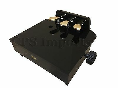 WOOD Piano Foot Pedal Stool/Piano Pedal Extender with 3 Pedals
