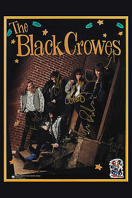 Rock: The Black Crowes Group Photo Poster