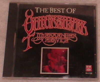 CD Best of Quicksilver Messenger Service 11 Songs 1990 Capitol Records Label