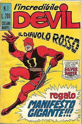 COMICS - L'Incredibile Devil N° 1 - Editoriale Corno 1970 - No Poster - USATO