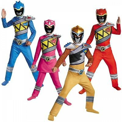 Power Ranger Dino Charge Costume Power Rangers Halloween Fancy Dress