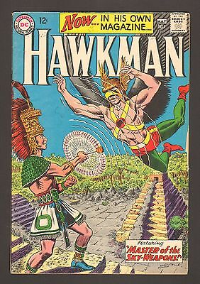 """Hawkman #1 - """"Masters Of The Sky-Weapons!"""" - 1964 (Grade 4.0/4.5) WH"""