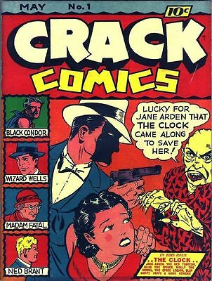 Quality Golden Age Comics Vol. 1 - 450 Issues On 2 Dvds