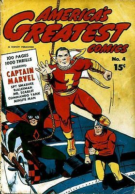 Fawcett Comics Golden Age Collection 280 Issues On Dvd